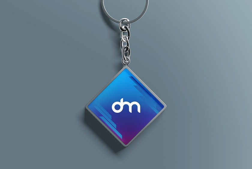 keychain mockup psd template download psd