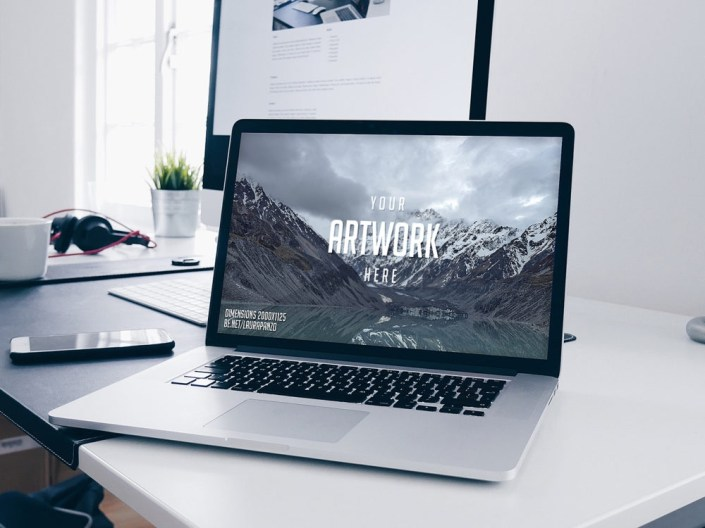 macbook mockup free free mockup