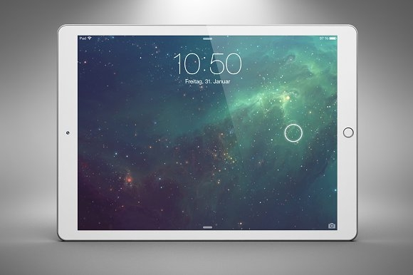 new ipad pro tablet mockup