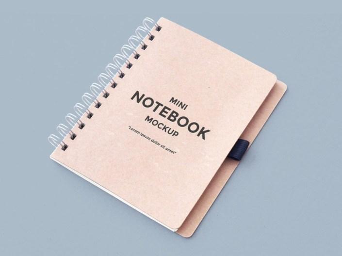 notebook free mockup free mockup