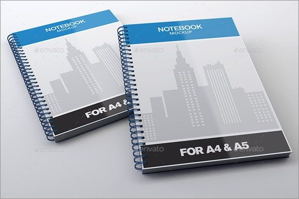 notebook mock up for a4a5 notepadmockup notepad cover