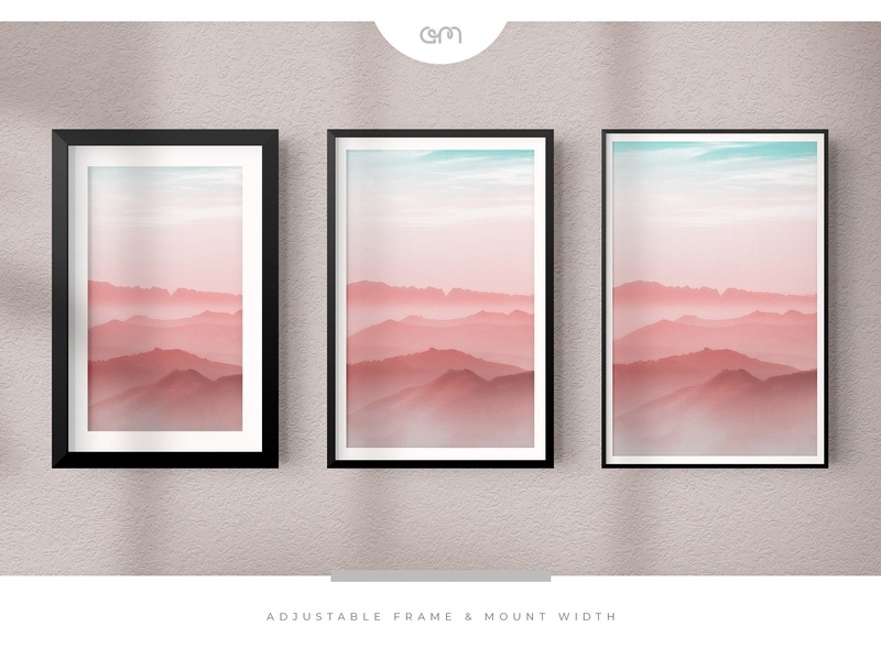 peko frame mockup creator kit mockup5 on dribbble