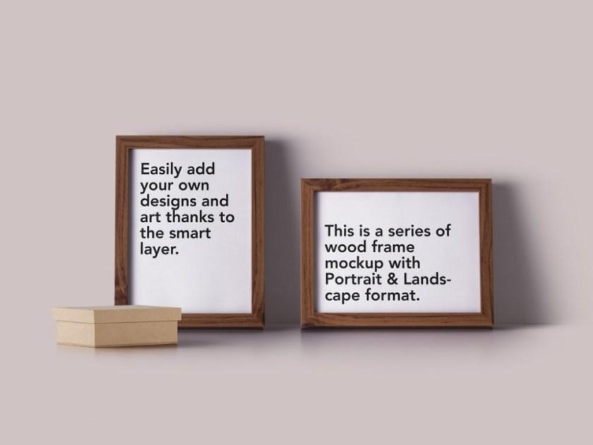 photo frames mockup mockupworld