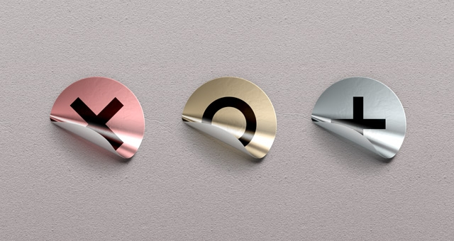 psd foil sticker badges miscellaneous pixeden