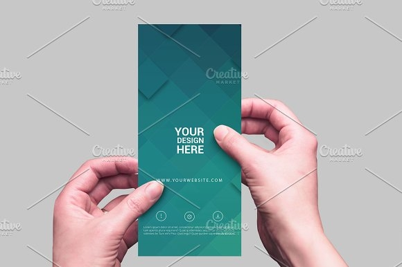 rack card and brochure mockup 9