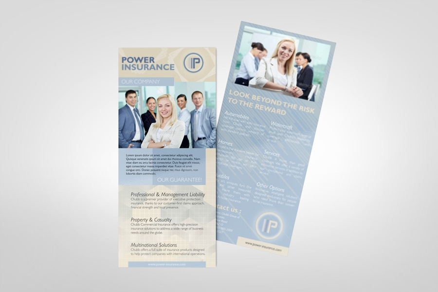rack card mockup graphicriver products mock up