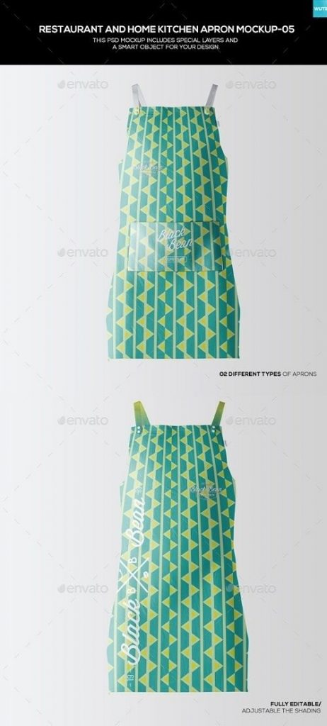 restaurant and home kietchen apron mockup 05 19477263