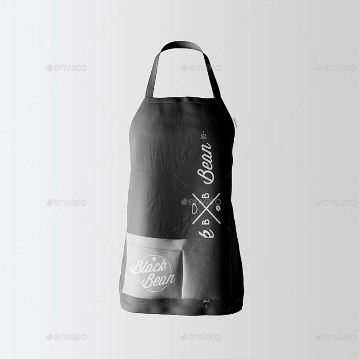 restaurant and home kietchen apron mockup 08
