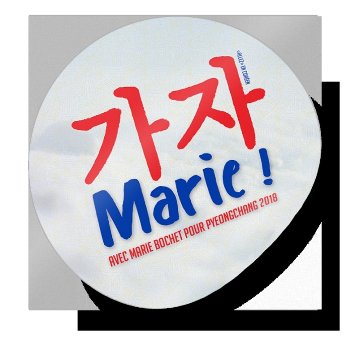 round sticker mockup final marie bochet skieuse handisport