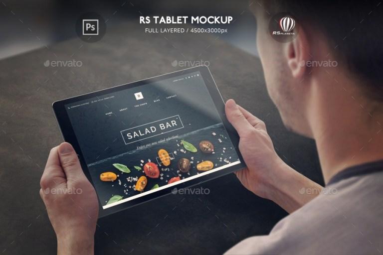 rs tablet mockup