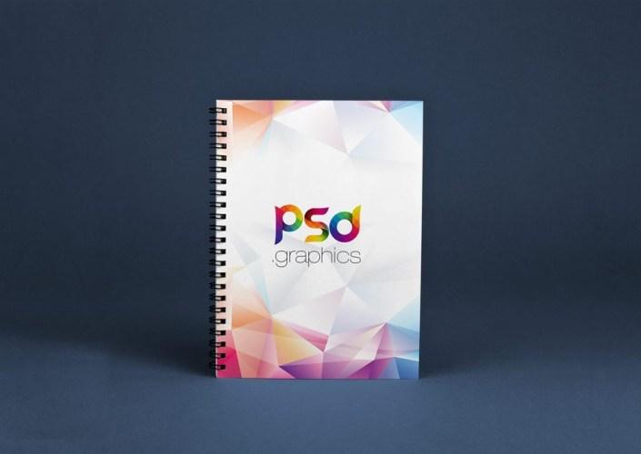 spiral notebook mockup mockupworld