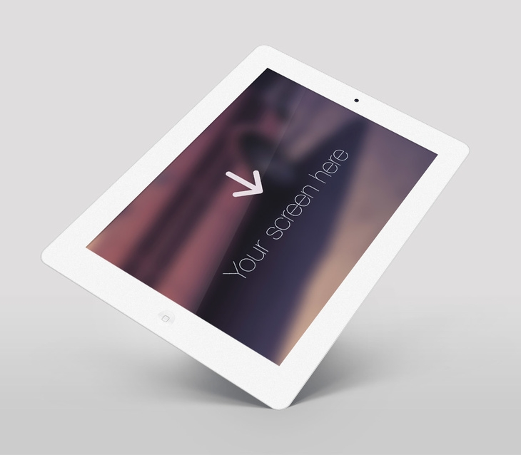 white ipad mockup psd free psd file