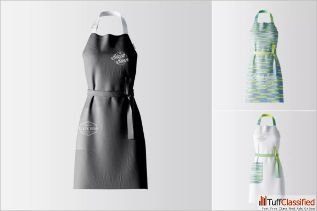 you searched for free apron mockup psd
