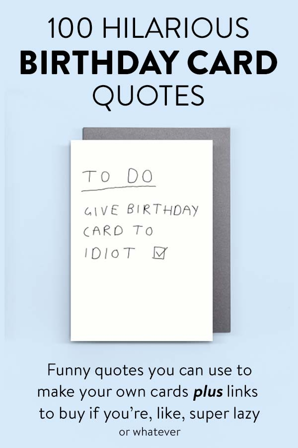 Funny Birthday Card Ideas - candacefaber.com