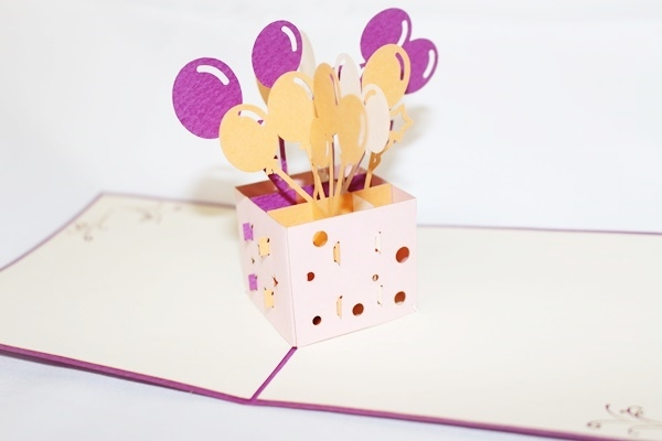 3d Birthday Card - candacefaber.com