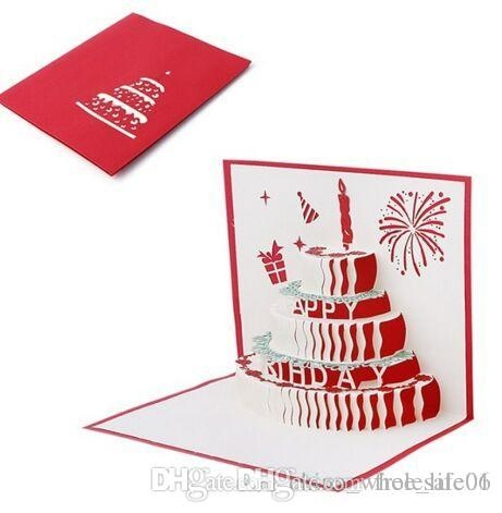"""3d Birthday Card - candacefaber.com"""" title="""
