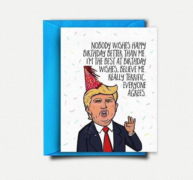 Trump Birthday Card - candacefaber.com