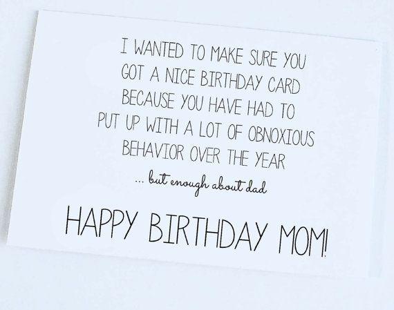 Mom's Birthday Card - candacefaber.com