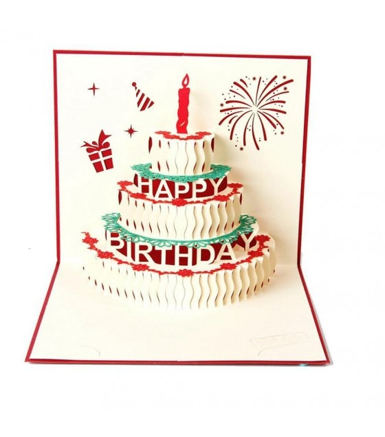 3d Birthday Card - candacefaber.com