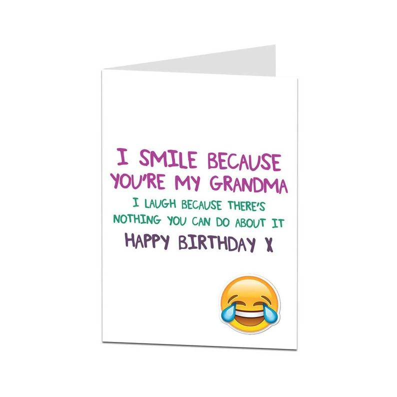 grandma card birthday card grandma happy birthday grandma grandma birthday card grandma joke card funny birthday card for grandma