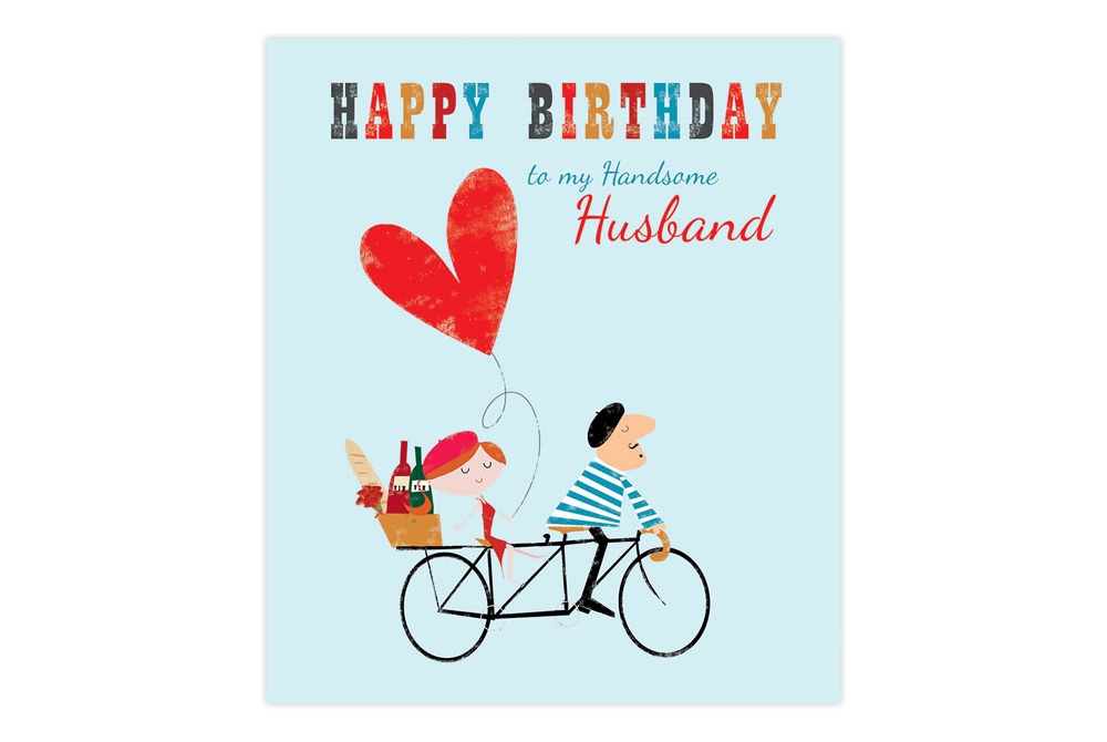 Husband Birthday Card - candacefaber.com