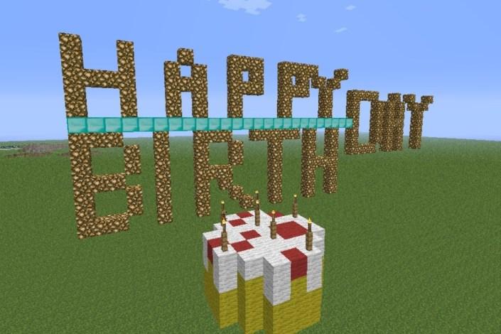 Minecraft Birthday Card - candacefaber.com