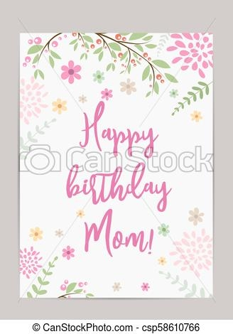 Mom Birthday Card - candacefaber.com