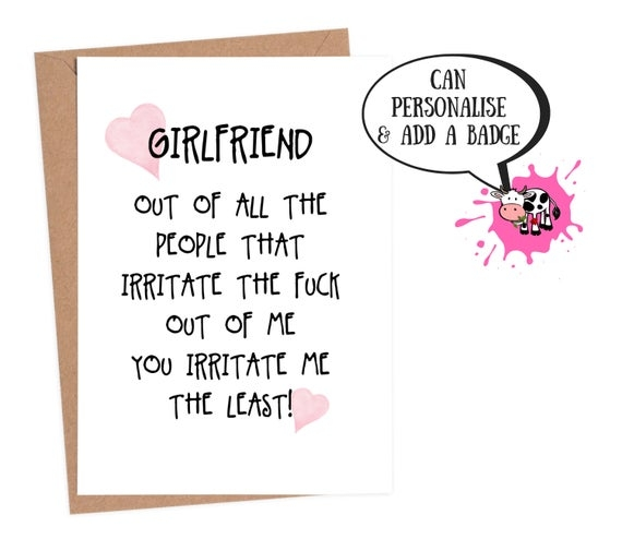 Birthday Card For Girlfriend - candacefaber.com