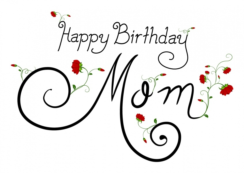 Happy Birthday Mom Card - candacefaber.com
