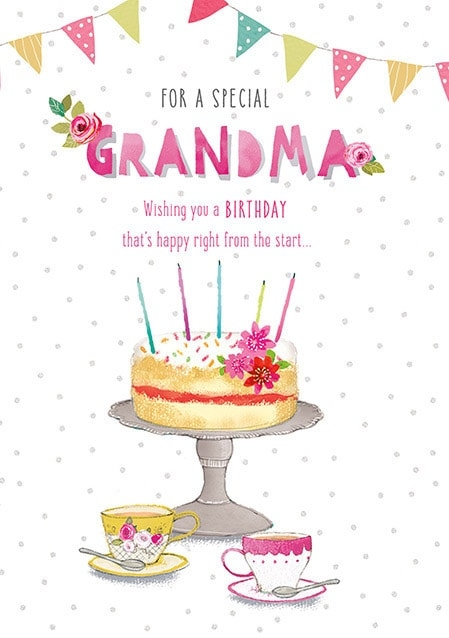 "Birthday Card For Grandma - candacefaber.com"" title="