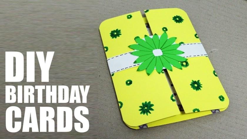 37 brilliant photo of handmade birthday card ideas for