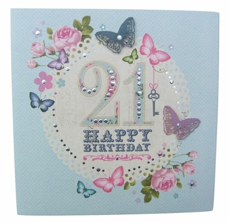 a bellissima butterflies twenty first birthday card hallmark 11082769 5017690843072 ebay