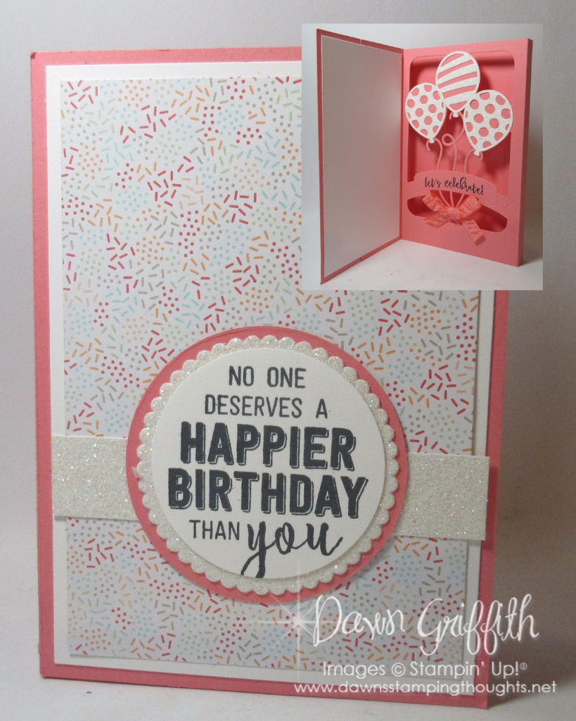 balloon adventures shadow box card video dawns stamping