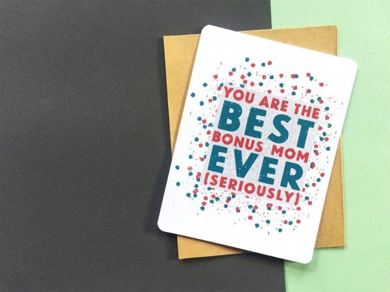 best bonus mom card mom birthday card bonus mom birthday card mom birthday card funny card for stepmom mother in law mentor