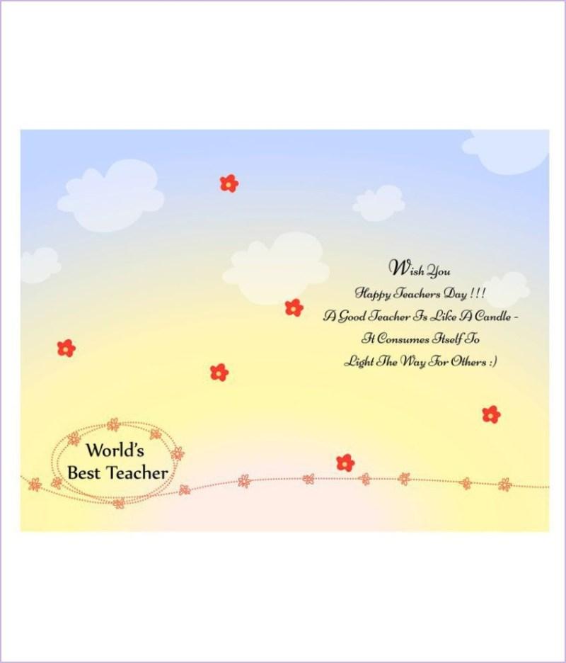 birthday card for teacher quotes tuckedletterpress