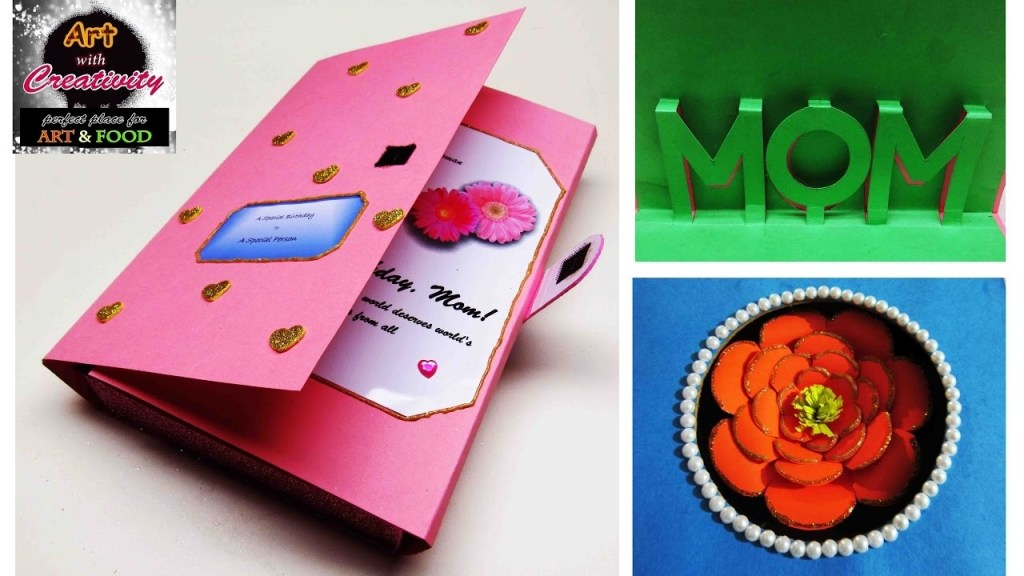 birthday card mom special diy art with creativity 101