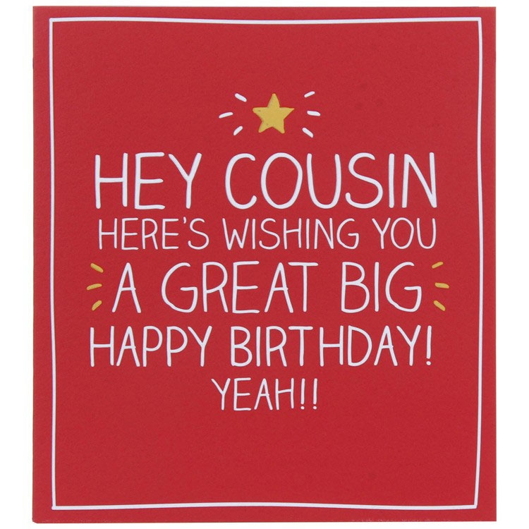 birthday cards for cousin 650650 happy jackson hey cousin