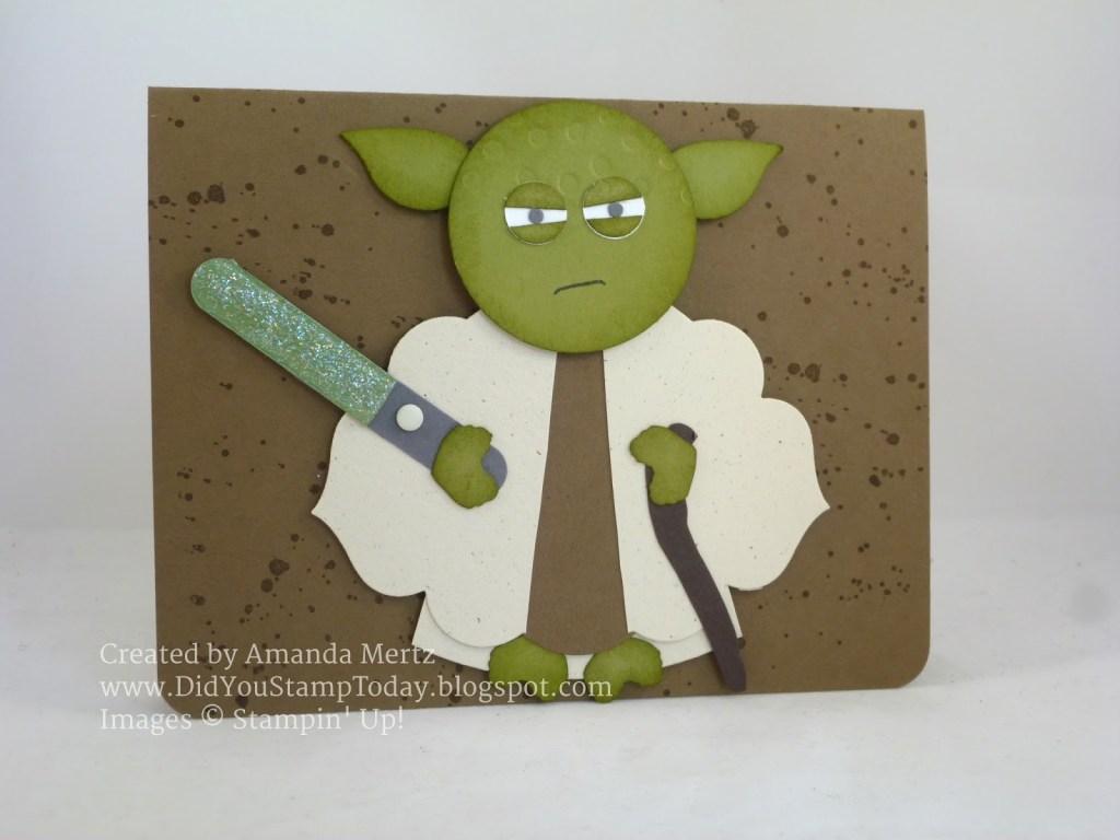 did you stamp today yoda star wars birthday