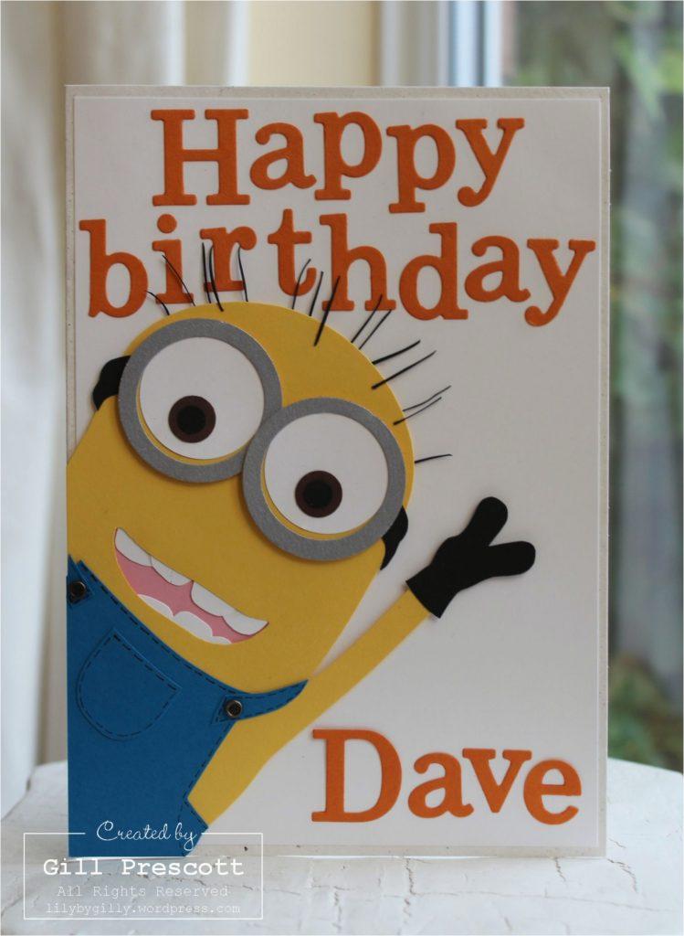 diy minion birthday cards minion birthday card hinhnenvip