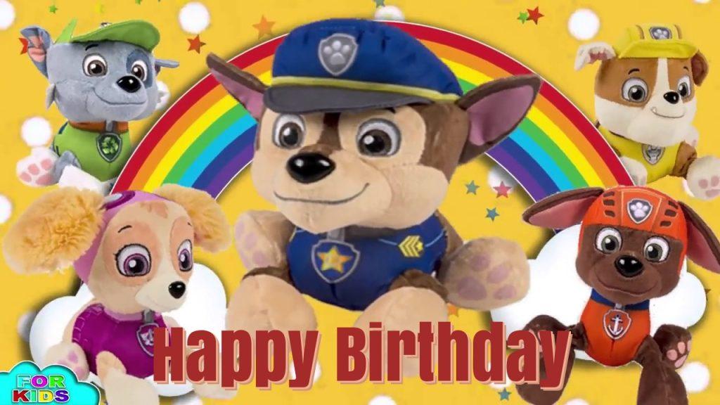 free paw patrol birthday ecards