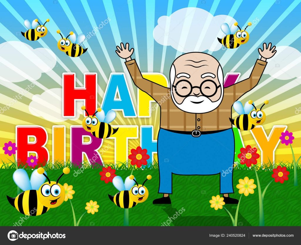 grandpa birthday card ideas happy birthday grandpa garden