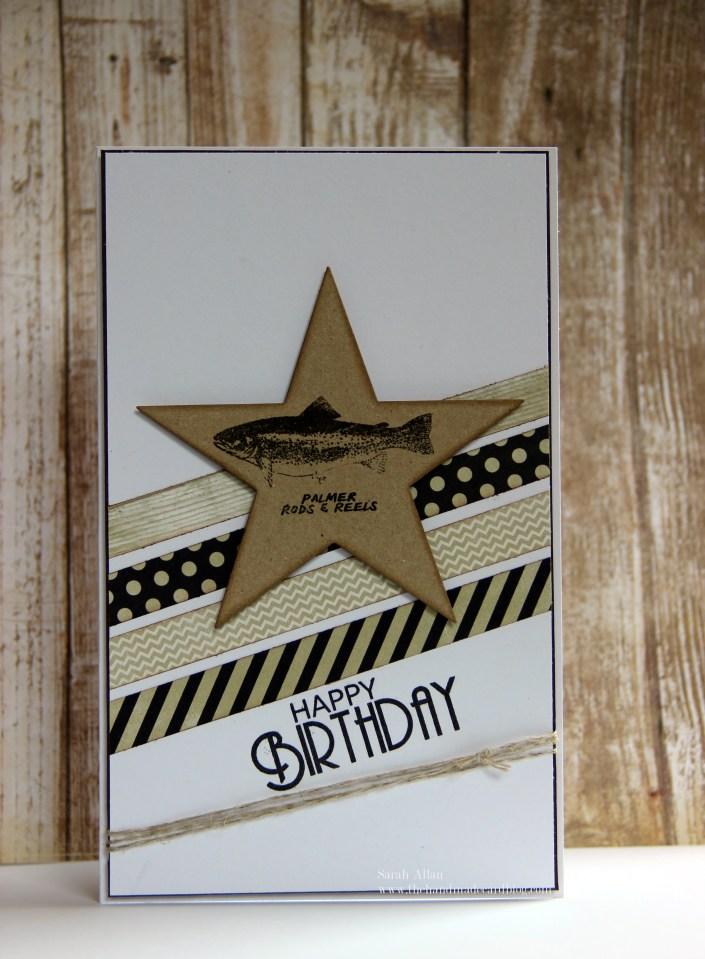 happy birthday card the handmade card blog