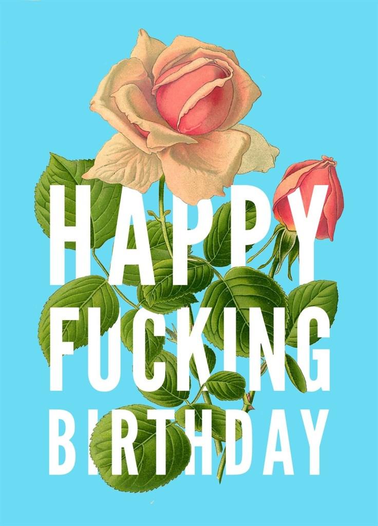 happy fucking flowers