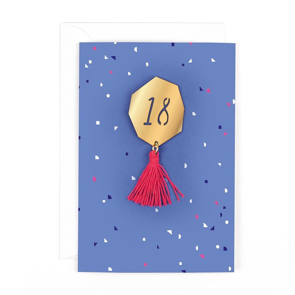 hotchpotch 18th birthday card hpmz02