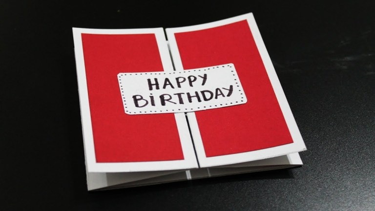 how to make birthday card for husband homemade birthday cards