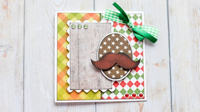 how to make greeting card grandfather father birthday step step diy kartka dziadek tata