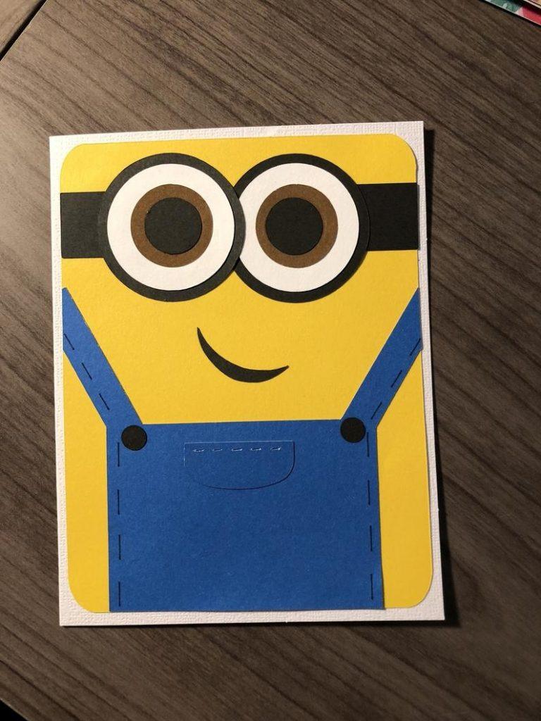 minion birthday card