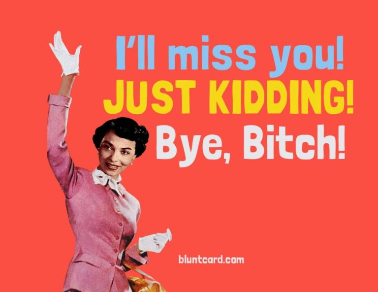 miss you bluntcard funny quotes funny cartoons retro humor