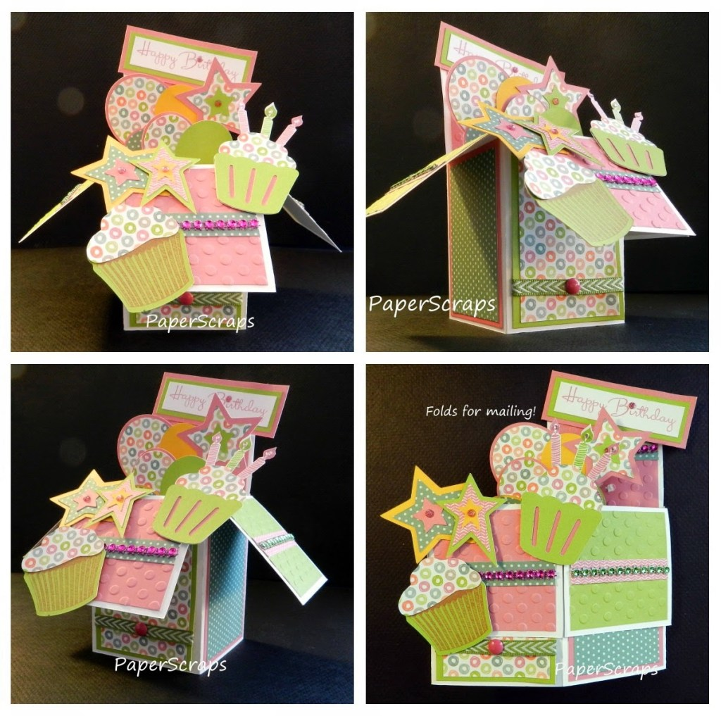 pattis close to my heart paperscraps happy birthday card