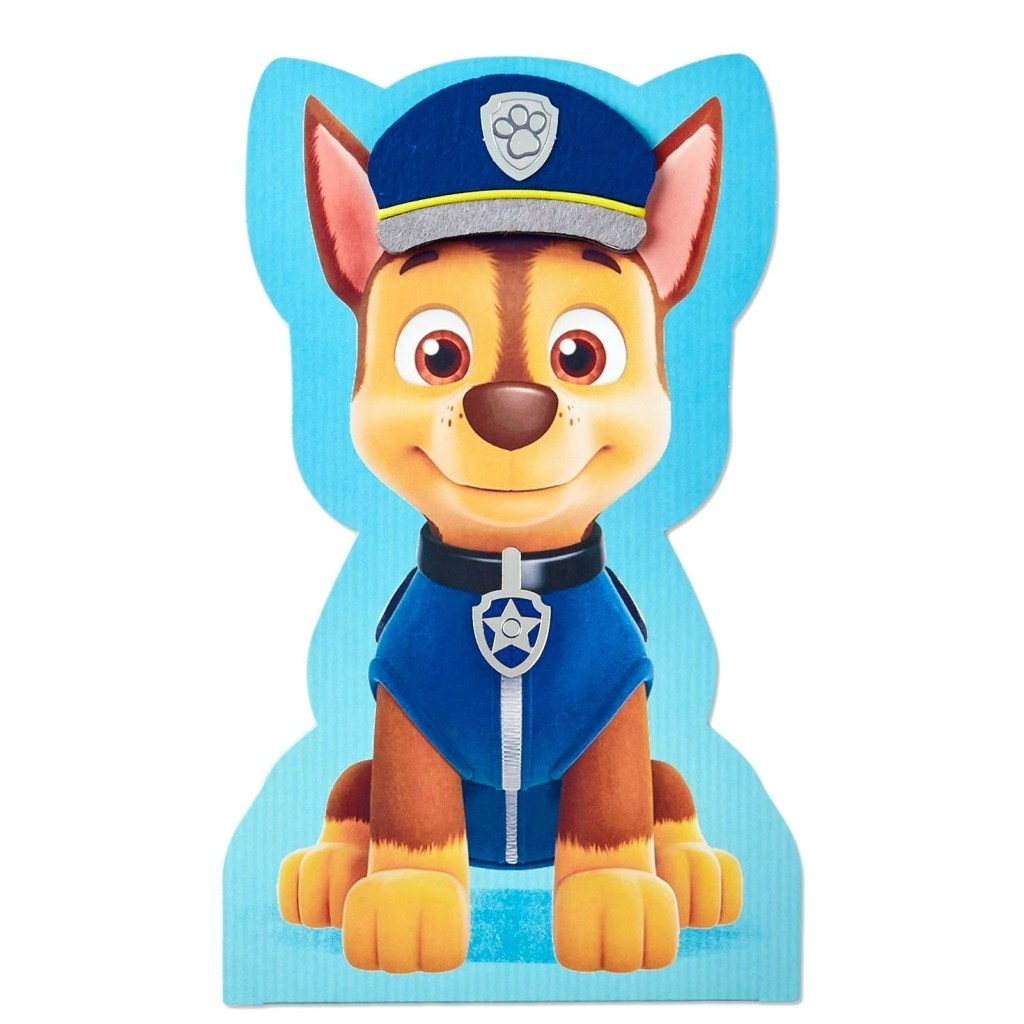 paw patrol cuddle pillow paw patrol chase displayable jumbo